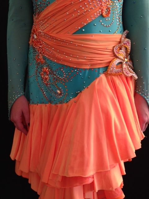 CORAL CASCADE BY ELLE DESIGNS 3
