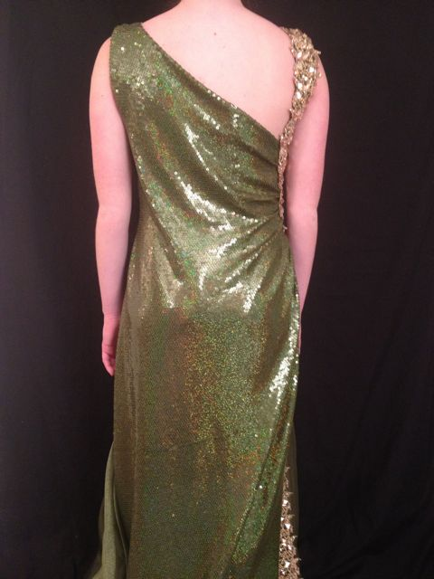 EMERALD SEQUIN SMOOTH 5