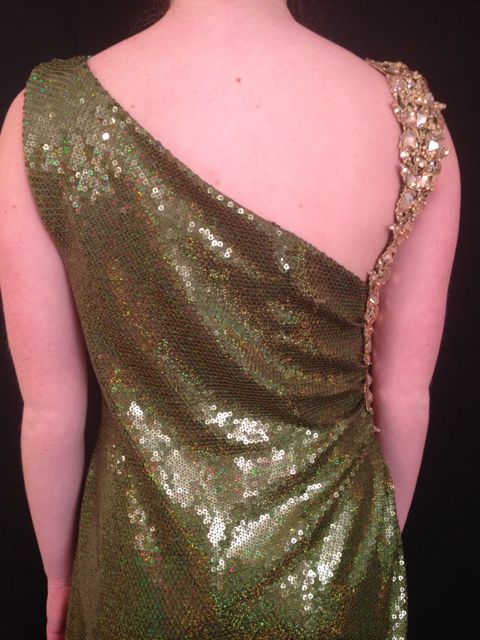EMERALD SEQUIN SMOOTH 6