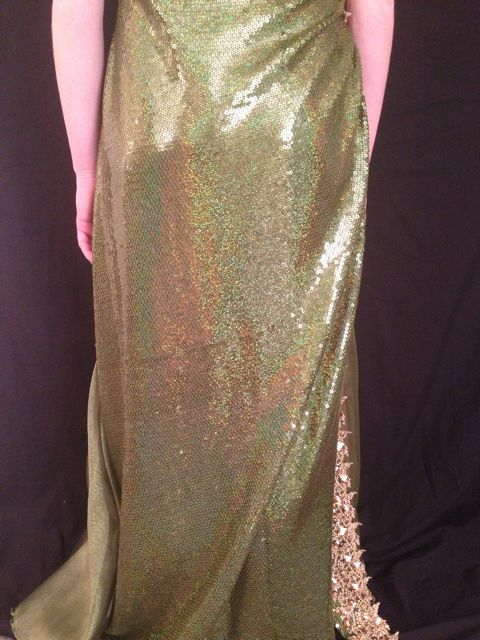 EMERALD SEQUIN SMOOTH 7