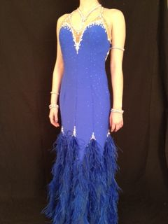 Rhapsody in Blue by Mimi G Designs Couture Collection