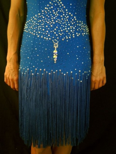 ROYAL SAPPHIRE FRINGE BY MIMI G DESIGNS COUTURE COLLECTION 3