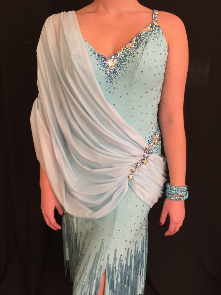 Sapphire Mist by Mimi G Designs Couture