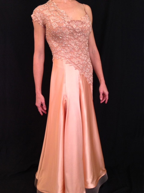 The Blushing Beauty by Mimi G Designs Couture Collection