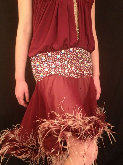 THE GLISTENING GARNET BY MIMI G DESIGNS COUTURE COLLECTION 3