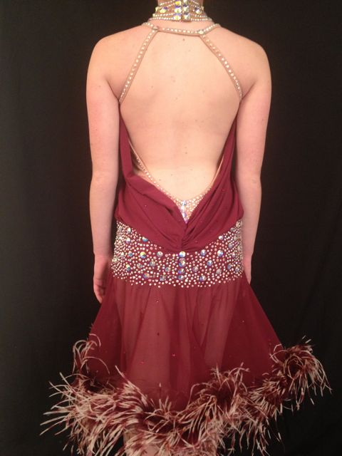 THE GLISTENING GARNET BY MIMI G DESIGNS COUTURE COLLECTION 4