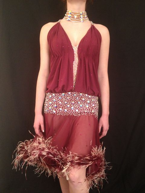 THE GLISTENING GARNET BY MIMI G DESIGNS COUTURE COLLECTION
