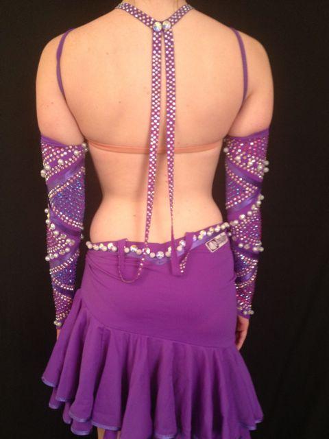 DRESS 4 DANCE PURPLE PEARL 4