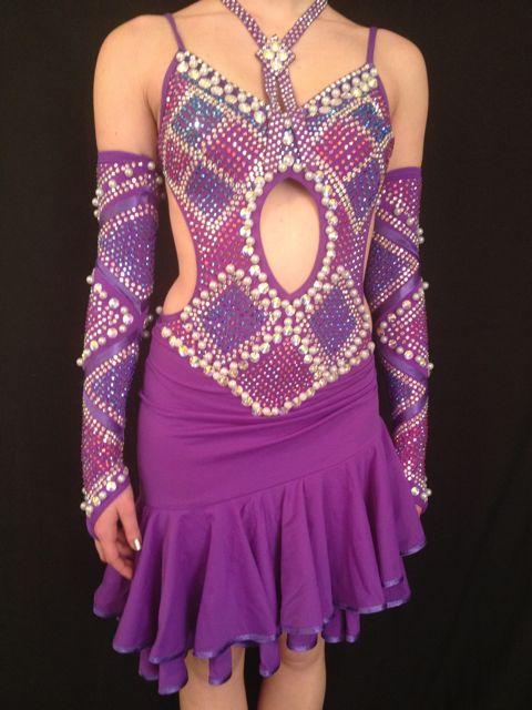 DRESS 4 DANCE PURPLE PEARL